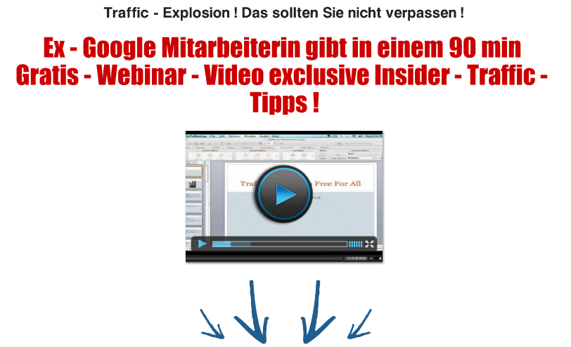 Video Insider Traffic Tipps